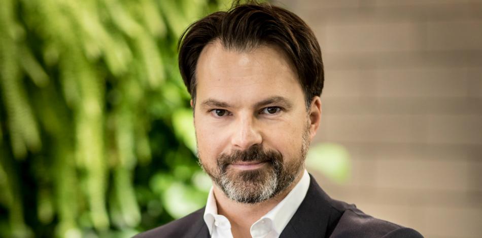 Zdjęcie przedstawia Bartosza Łopińskiego