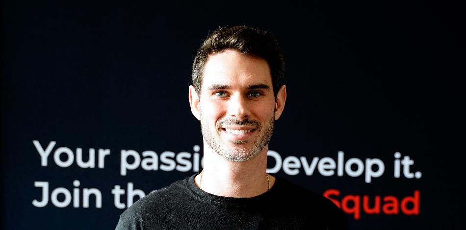 Zdjęcie przedstawia przedstawiciela firmy VentureDevs