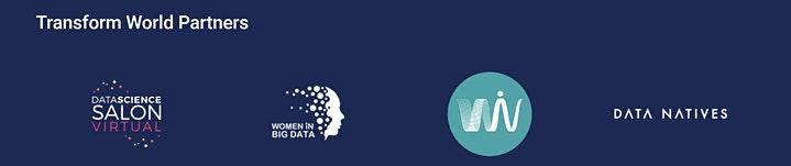 grafika zawiera logotypy partnerów Tarnsform World